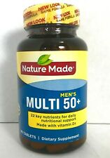 Nature Made Men 50+ Multi Vitamin Gluten Free 90 count Exp 3/21