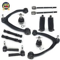 12pc Front Upper Control Arm Tie Rod Sway Bar Ball Joint Kit - Silverado Sierra