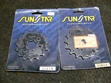 Sunstar 31515 31516 Steel Front COUNTERSHELF SPROCKET 15T 16T KAWASAKI YAMAHA