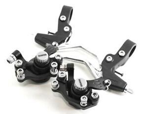 SHUNFENG Mechanical Disc Brake Levers/Calipers Set 160MM / 140MM IS Mount NEW