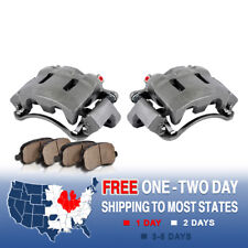 Front Brake Calipers Pads For 2000 2001 2002 2003 2004 Ford Excursion F250 F350