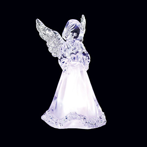 Light Up - Colour Changing Acrylic Angel