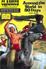 UK Classics Illustrated #31 - Around the World in 80 Days - May 2011, new copy!