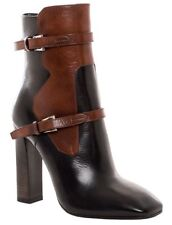 BNIB PRADA 2 TONE LEATHER ANKLE BOOTS UK 5.5 US 7.5 EUR 38.5