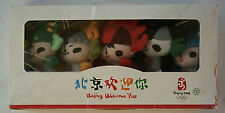 5 Orig.mascot`s / Keyring`s   Olympic Games BEIJING 2008 // in Box  !! VERY RARE