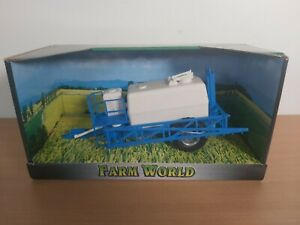 Farm World Models Crop Sprayer Tanker Trailer Tractor Accessory Agricultural NEW