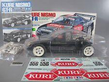 Rare New Partial Built Tamiya 1/10 R/C Nissan Kure Nismo GTR TA03F Chassis 58185