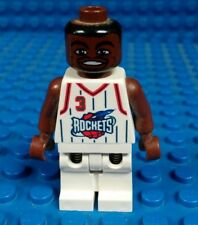 Lego | Steve Francis Mini Figure | White Rockets Jersey | Used | Ships Fast