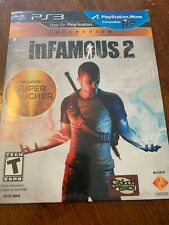 Infamous 2 (PlayStation 3, PS3) - NEW IN PAPER SLIP (Not for resale EDITION)