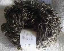 Comin Up Flowers SWTC Boucle Yarn - New - Olive Green Soysilk