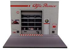 Diorama présentoir Alfa Romeo - Tirso Auto S.p.a. - 1/18ème - #18-2-E-E-004