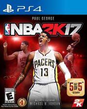 NBA 2K17 PS4 Sony PlayStation 4 - Brand New / Sealed - Free Shipping