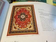 Cross Stitch & Needlework Magazine Jan/Feb 2000-Dollhouse Oriental Rug &