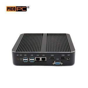 8th Gen Intel® Core i7-8550U 2 LAN 3 Display Fanless Mini PC 8GB RAM/128GB SSD