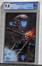 Guardians Of The Galaxy #1 Cgc NM+ 9.8 Parrillo Virgin Variant, 💀🏍️, Silver 🏄