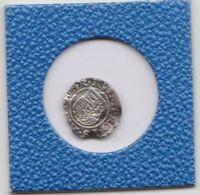 1 Denar Ungarn 1580 Rudolf II Habsburg Hungary 90° Stempeldrehung coin rotation