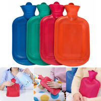 PRO THICK Rubber HOT WATER BOTTLE BAG WARM Relaxing Cold Heat uops CL R3X7