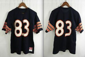 """Vintage 80s CHiCAGO BEARS JERSEY #83 SAND-KNIT USA Willie Gault LARGE 45"""" Chest"""