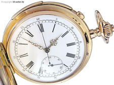 "Taschenuhr ""Repetition Chronograph"" Gold Audemars Brassus ca. 1900"