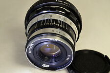 Industar 52mm f2.8 M39 Leica Mount Lens adapted to Nikon 1 cameras mirrorless J2