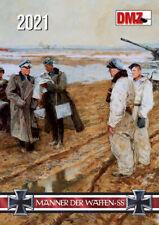Männer der Waffen-SS Kalender in Farbe 2021 - 14 Farbige Kalenderblätter