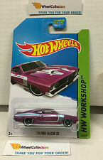 '73 Ford Falcon XB #238 * Rare Kmart Only PURPLE * Hot Wheels 2014 * B16