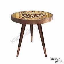 Beistelltisch Couchtisch Tisch Coffee Table mit Design Motiv Cup of Coffee