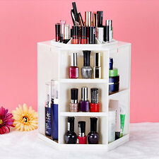 360° Rotating Jewelry Makeup Cosmetic Organizer Case Display Holder Box Storage