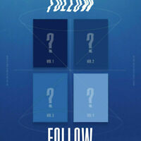 MONSTA X FOLLOW - FIND YOU CD(random ver) + Tracking number