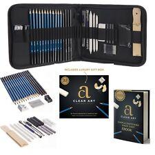 Professional Art Kit - Sketching & Drawing Set - Art Supplies  33 - piece set...