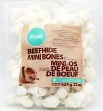 Rawhide Peidi Beef hide Bones Dog Chew 4 pack Expiry 2022/02