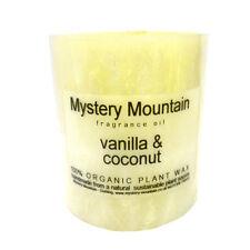 Vanilla & Coconut Scented Organic Candle