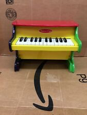Melissa and Doug Learn To Play Piano Toddler Wooden Piano