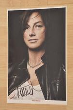 ORIGINAL Autogramm von Gianna Naninni. pers. gesammelt. 20x30 Foto. 100 % Echt