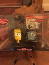 RARE Disney Store Cars 2 Ape & Professor Z Die Cast Car In Collector's Case