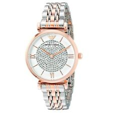 Emporio Armani AR1926 Stainless Steel Women's Watch - Silver Rose Gold