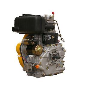 Dieselmotor 10PS Diesel Motor 7,2kW Pumpe EStart Gewindewelle 3/4Z-16UNF