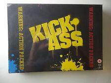 Kick-Ass (Blu-ray Disc, 2010, UK) Limited Edition #702/1300 Brand NEW Sealed