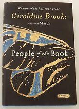 MYSTERY  People of the BOOK Geraldine Brooks HARDBACK hb/dj medieval illuminated