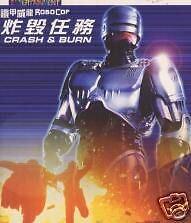 Robocop Crash & Burn 鐵甲威龍 炸毀任務 & MELTDOWN 鐵甲威龍 溶化危機 VCD