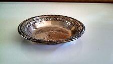 "Reed & Barton Silverplated Dish / # 1201 / Has Hallmark / 6 1/8"" Wide 1"" Tall"
