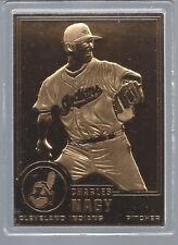 Charles Nagy 2001 Danbury Mint Sealed 22 Kt Gold Card # 116
