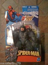 "Marvel Universe POWER CHARGE RHINO Spider-Man Series 3.75"" figure Avengers"