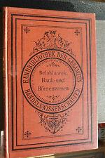 Hanns Belohlawek: Handbuch des Bank- und Börsenwesens, August Brettinger