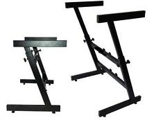 GMI PRO Collapsible Z Stand DJ Mixer or Coffin Keyboard Stand ZS-100
