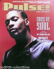 D'ANGELO 2000 PULSE MAGAZINE COVER POSTER