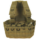 Tactical Military Commando Chest Rig Mag Carrier & Hydro Pack - DESERT TAN