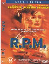 R.P.M.-1997-David Arquette- Movie-DVD