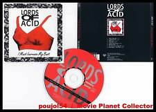 """LORDS OF ACID """"I must increase my bust"""" (CD) house 1996"""
