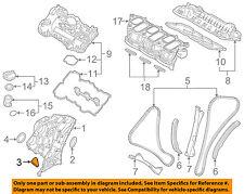 KIA OEM 11-18 Sorento Engine Parts-Crnkshft Seal Gasket Left 213543C510